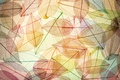 Картинка осенние, abstract, фон, leaves, autumn, листья, colorful, transparent