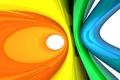Картинка Абстракция, кольца, цвета