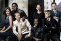 Картинка Brad Pitt, George Clooney, Julia Roberts, Catherine Zeta‑Jones, Друзья Оушена, Ocean's Twelve, Bernie Mac, Matt ...