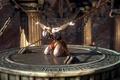 Картинка подземелье, жертва, узник, God of War, колонны, Kratos, казнь, ascension, цепи, кандалы, game