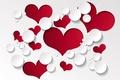Картинка фон, красные, design, hearts, сердечки, любовь, romantic, valentines