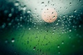 Картинка стекло, дождь, капли