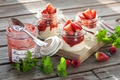 Картинка ягоды, джем, клубника, десерт