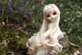 Картинка игрушка, кукла, блондинка, сидит, длинные волосы