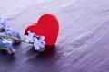 Картинка цветы, широкоэкранные, сердце, HD wallpapers, красное, обои, полноэкранные, background, fullscreen, сердечко, широкоформатные, настроения, цветочки, фон, ...