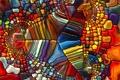 Картинка узор, стекло, разноцветное, витраж