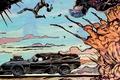 Картинка авто, нагнетатель, Fury Road, Mad Max, V8, car, auto, art, Ford Falcon XB, Форд Фалкон, ...