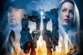 Картинка spark, planetary invasion, tower, people vs machines, humans vs robots, robot invader, batllefield, star, high ...