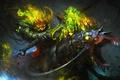 Картинка праздник, магия, halloween, тыква, меч, тьма, Lord Pumpkinton, лошадь