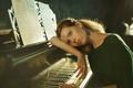 Картинка piano, девушка, ноты, пианино