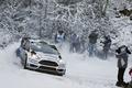Картинка Занос, Elfyn Evans, WRC, Rally, Ford, Снег, Fiesta