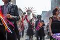 Картинка 007: спектр, Spectre, череп, маски, люди, карнавал