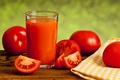 Картинка салфетка, помидоры, овощи, красные, томатный сок, стакан, томаты