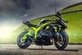 Картинка motorcycle, ZX-6R, спортивный мотоцикл, sport bike, Ninja, Максим Бондаренко, блик, Kawasaki, кавасаки, ниндзя, фотограф, солнце