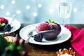 Картинка мороженое, свечи, десерт, candles, dessert, ice cream, еда, blackberry, ежевики