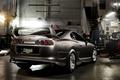 Картинка Toyota, supra, тойота, супра, спорткар, серый, вид сзади