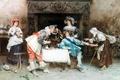 Картинка картина, good health and good fortune, Francesco Vinea, 1890, painting, живопись, итальянский художник