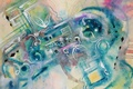Картинка рисунок, фигуры, причудливость, мягкие цвета
