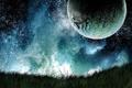 Картинка небо, космос, звезды