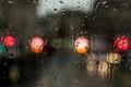Картинка цвет, поверхность, вода, дождь, капли