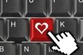 Картинка red, широкоэкранные, сердце, HD wallpapers, обои, кнопка, клавиатура, полноэкранные, love, background, красный, широкоформатные, курсор, настроения, ...