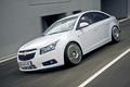 Картинка авто, белый, седан, Chevrolet Cruze
