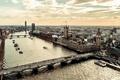 Картинка Лондон, вид, сверху