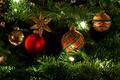 Картинка украшения, настроение, праздник, игрушки, елка, гирлянда