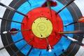 Картинка arrows, destruction, practice, target shooting, white target, marksmanship