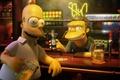 Картинка Simpsons, симпсоны, гомер, пиво, бар