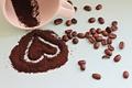 Картинка cup, кофе, beans, coffee