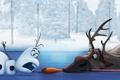 Картинка Frozen, Мультфильм, Олень, Снеговик, Холодное сердце