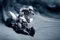 Картинка Квадроцикл, грязь, гонщик
