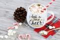 Картинка зима, кофе, молоко, чашка, winter, cup, какао, holiday, coffee, cocoa, milk