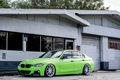 Картинка Зеленая, БМВ, Tuning, Matte Green, F30, BMW, 330d