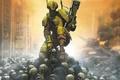 Картинка Warhammer, война, черепа, солдат
