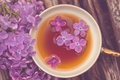Картинка цветы, flowers, кружка, широкоэкранные, HD wallpapers, обои, полноэкранные, background, fullscreen, чай, широкоформатные, цветочки, настроения, чашка, ...