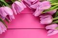 Картинка цветы, flowers, spring, pink, fresh, tulips, тюльпаны