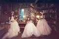 Картинка платье, девушки, азиатки, комната