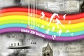 Картинка Color make life better, цвет, радуга, газеты