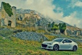 Картинка стены, развалины, brz, subaru, car, машина, авто, пейзаж, субару, камни
