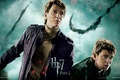 Картинка Harry Potter, взгляд, Джордж, братья Уизли, Битва за Хогвартс, Гарри Поттер и Дары Смерти часть ...