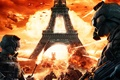 Картинка Огонь, война, париж, взрыв