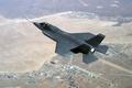 Картинка Истребитель, земля, скорость, полёт, F-35