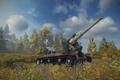 Картинка Арта, World of tanks, Малиновка, С-51