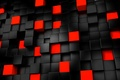 Картинка cube, dark, abstract