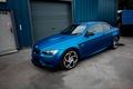 Картинка Matte, BMW, metallic, blue, wrap
