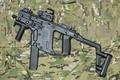 Картинка оружие, KRISS Vector, пистолет-пулемёт, Super V, камуфляж