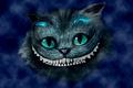 Картинка голова, Alice in Wonderland, Алиса в стране чудес, Чеширский кот, улыбка, синий, Cheshire Cat