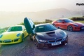 Картинка Jaguar F-Type, Supercars, Porsche 911, Wallpaper, Top Gear, BMW i8